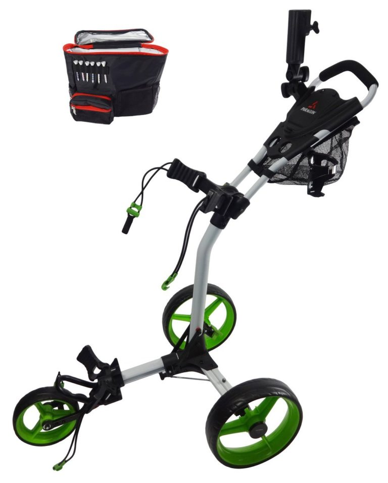 paragon-golf-3-wheelie-green