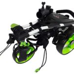 paragon-golf-3-wheelie-green-folded