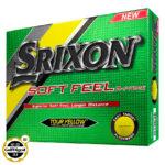 Srixon Soft Feel Yellow 2017