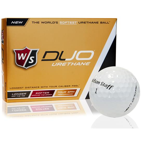 Wilson Duo Urethane Golf Balls1