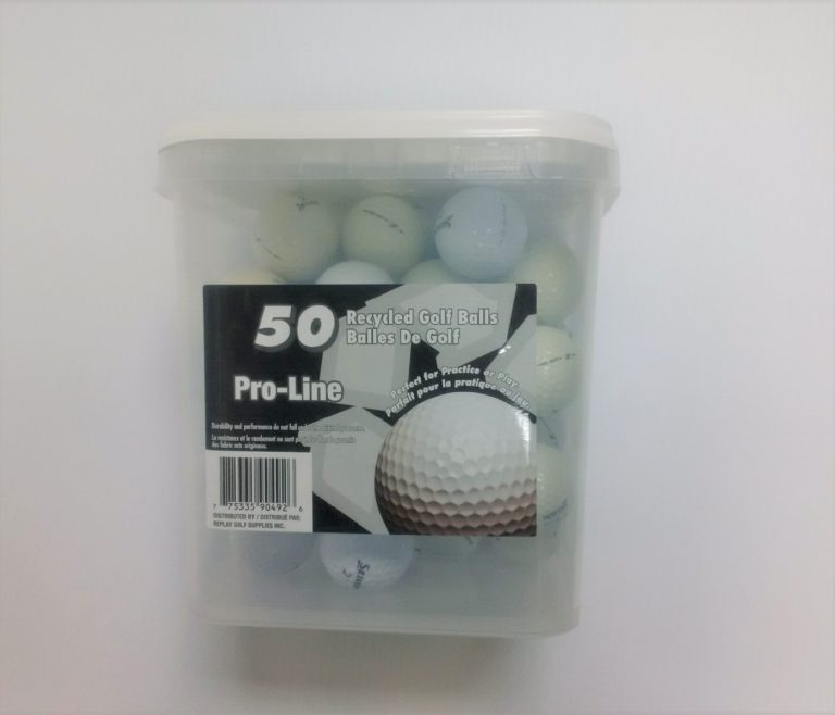 Recycled Golf Balls Tuba