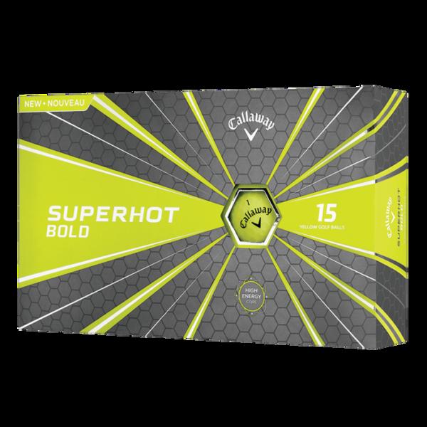 Callaway Super Hot Bold 15 Ball Pack Yellow