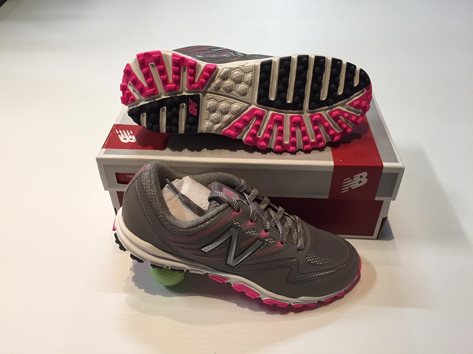 a7f571342c40 New Balance Women's Minimus Sport Pink/Grey Golf Shoes - Riverside ...
