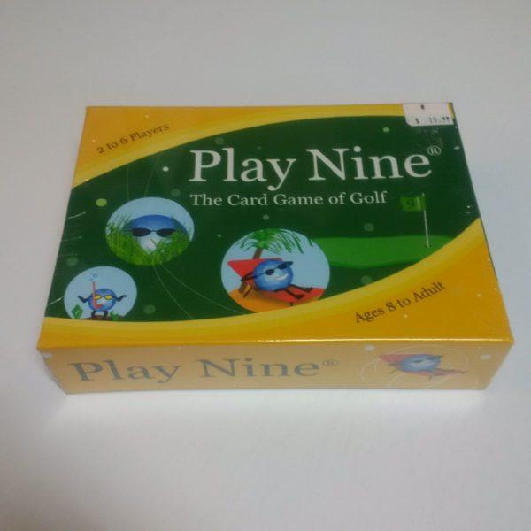 Play Nine Card Game of Golf