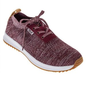 true-knit-maroon-golf-shoes